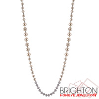 Pearl And Crystal Bead Necklace K13942