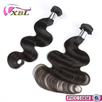 Double Strong Wefts Wholesale Grade Body Wave Virgin Brazilian Hair