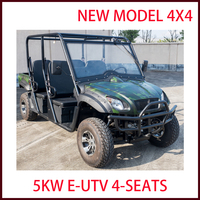 New design utility buggy 4 wheel drive lower price electric UTV 4 seats
