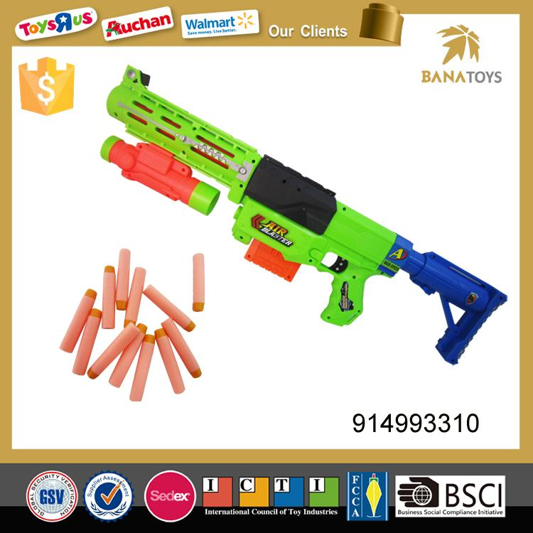 Plastic air soft military gun for children