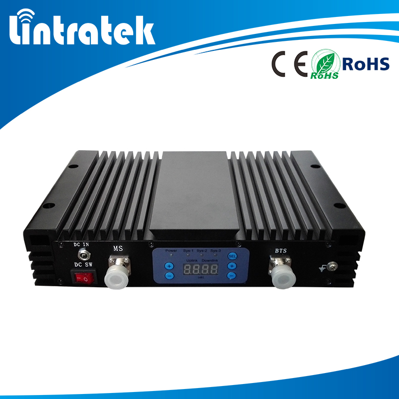 Lintratek High Quality wcdma 3g mobile signal amplifier/wcdma 3g repeater/3g mobile
