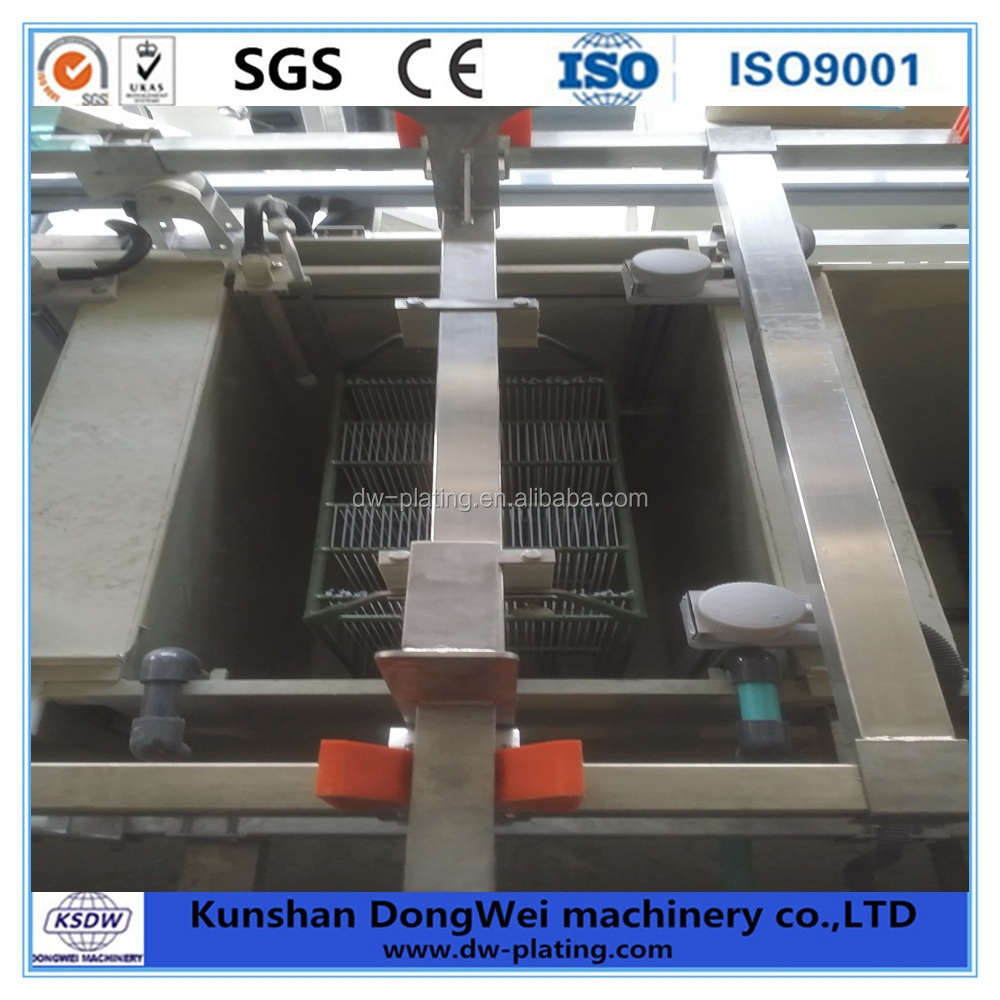 Vertical Automatic Lifting Plating Plant for auto part