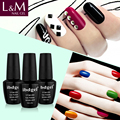 Last More Than 3 Weeks 602 Colors 15ml UV Gel new Ibdgel Nail Gel