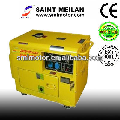 5KW groupe electrogene 6kva power silent electric factory diesel generator set genset