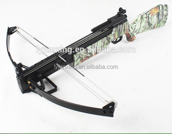 Archery crossbow for hunting with high accuracy