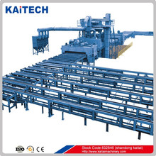 Q6920 steel sheet shot blasting/ surface cleaning machine best quality in Asia