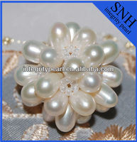 White handmade pearl ball decoration