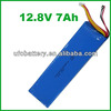 EV Battery 4s 12.8v 7Ah LiFePO4 Battery Lithium Iron Phosphate Rechargeble Battery For Solar System