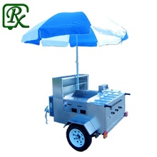 small order accepted mobile hot dog cart for sale