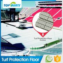 High quality anti-slipping modular interlocking outdoor sports turf protection flooring