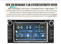 capacitive Car DVD Player FOR COROLLA(2000-2006)/HILUX(2001-2011) With GPS Bluetooth FM/AM RDS