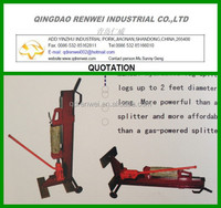 8Ton Manual Hydraulic log splitter Foot Pedal