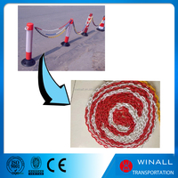2mm spiral decorative plastic chain