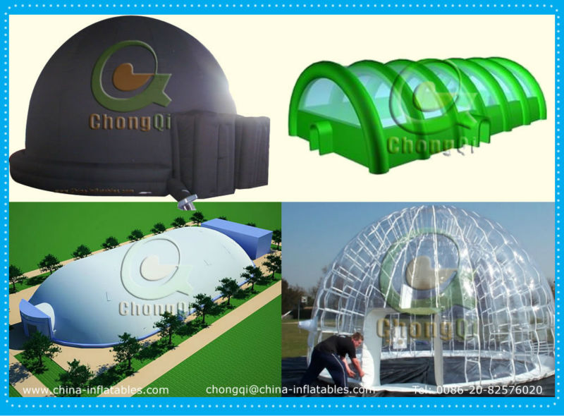 Durable CE approved inflatable medical tent