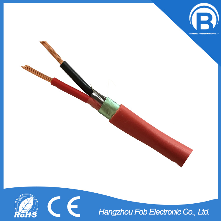 FOBELEC factory price high end 28x 0.25mm Stranded bare copper fire alarm cable