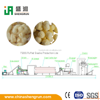 small crab flavoured snacks food making machine