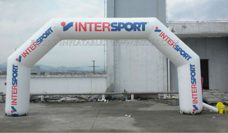 Intersport Arch,inflatable event arch, inflatable entrance arch K4049