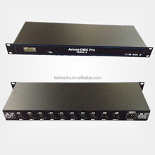 real time artnet controller 8 and 16 universes dmx512 controller Madrix compatible