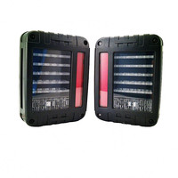 "NEWEST ARRIVAL !! 6""x 8"" Jeep LED tail light for Jeep Wrangler led trailer tail lights"