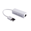 High speed white USB 2.0 to RJ45 Lan 100Mbps Network fast Ethernet Adapter Card For PC