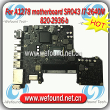 laptop motherboard For APPLE MacBook Pro A1278 SR043 I7-2640M 820-2936-b 2011