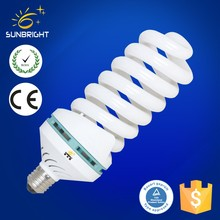 E27 Full Sprial Energy Saving Compact Fluorescent Lamp cfl spiral lighting