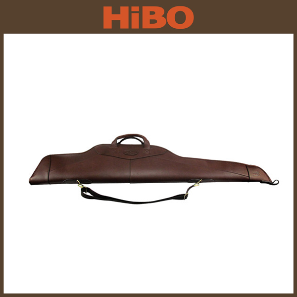 Tourbon Outdoor genuine leather Hunting Shooting Rifle Gun Bag/case
