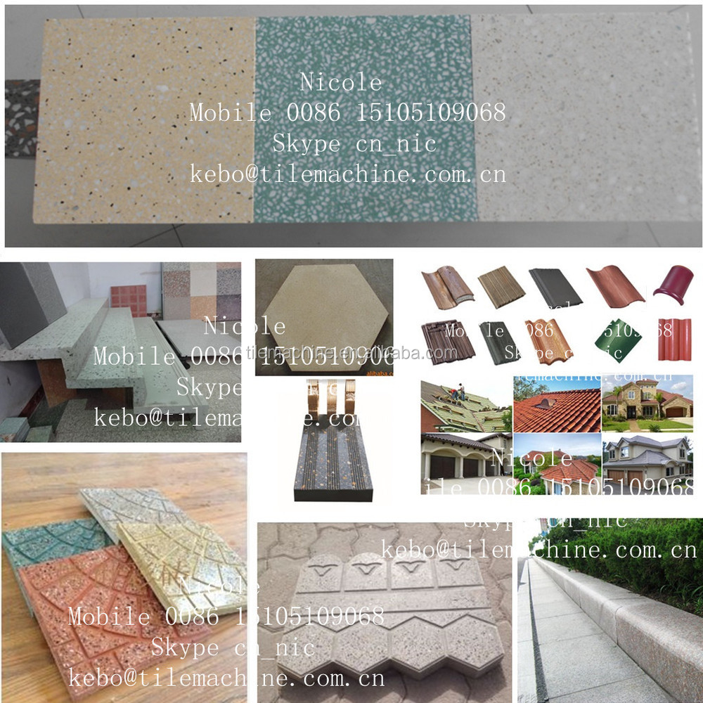 Kb125e terrazo m quina de fabricaci n de baldosas precio for Precio baldosa terrazo