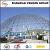 light steel structure dome space frame shed