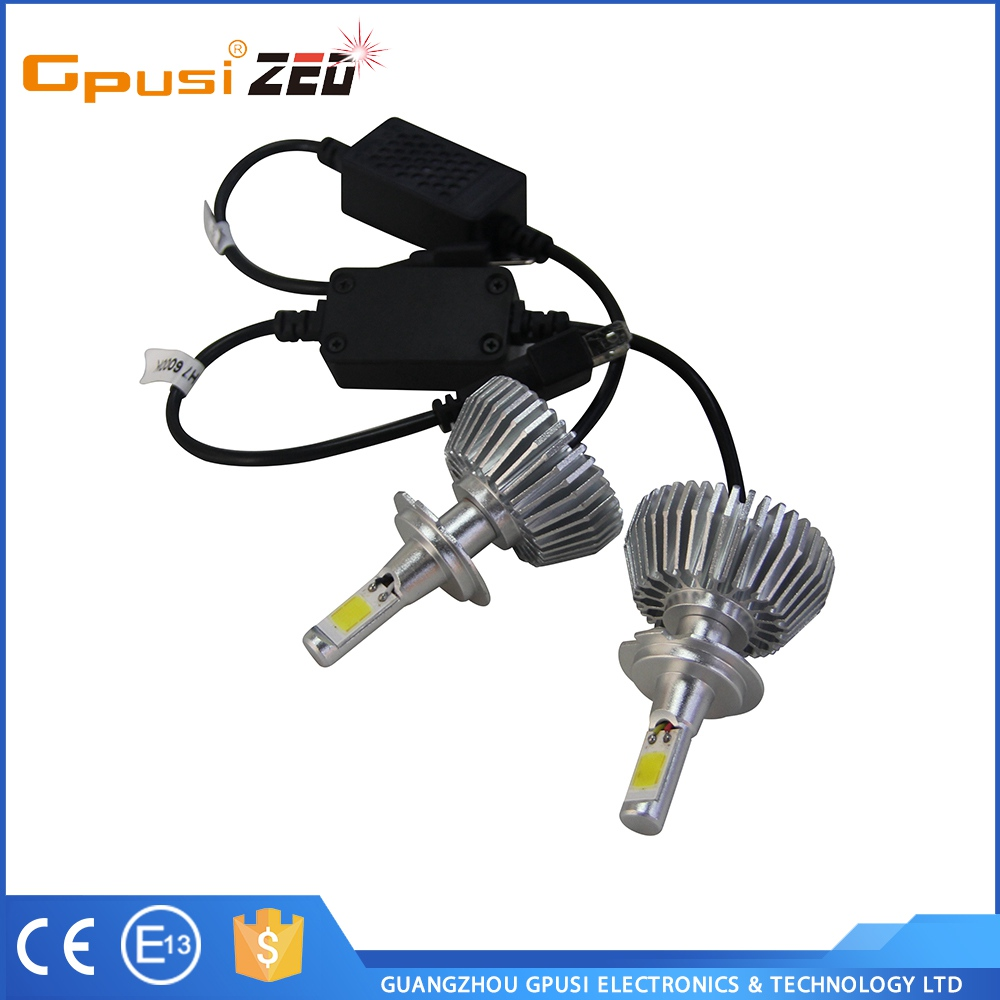 Cost-Effective High Grade COB 2S H7 1800 Lm Car Led Headlight Car Accessories LED