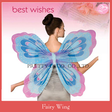 Multi color paiting costume Adult fairy butterfly wings lady party costumes