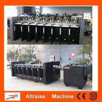 6/10/12 stations office paper collator machine, industrial paper gathering machine, paper collating assembly machine