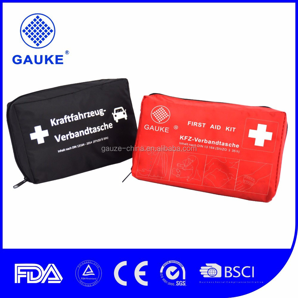Top Selling DIN Kit Car Accessories Refilled First Aid Kit