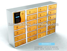 Electronic steel locker for building of high quality and safety mailbox