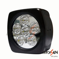 2016 Hot sale 60w led work light for trucks,SUV,JEEP,ATV, flood spot beam 24v 12v 60watt led work lamp