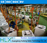 2016 Most popular washing machine assembly line