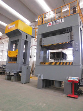 steel door production line H frame hydraulic press machine for car body