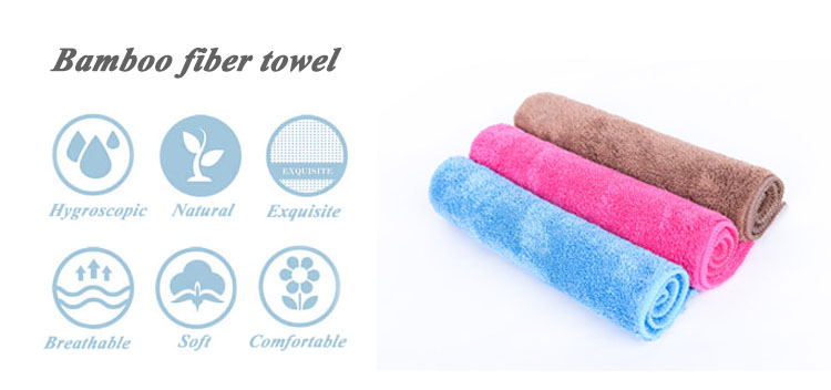 Pure color 100% turkish cotton monogram kitchen cleaning towel