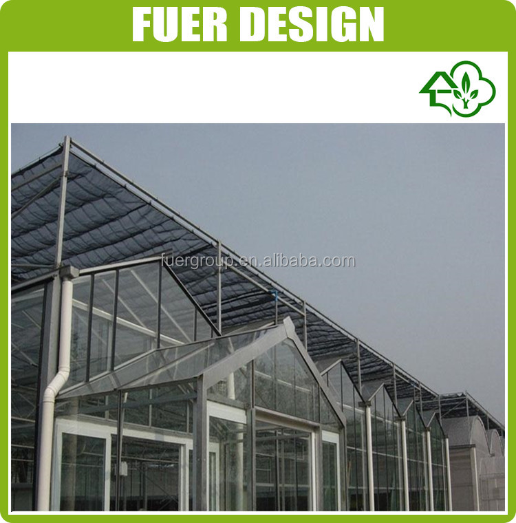 Aluminum Easily Assembly Polycarbonate Greenhouse