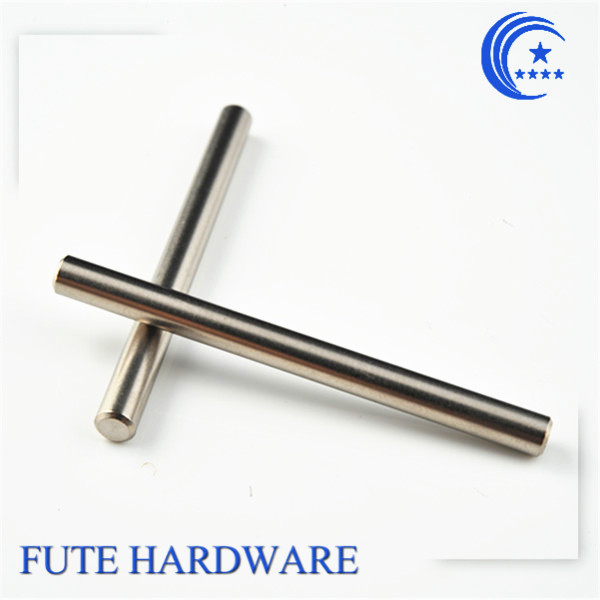 High quality custom made metal long pin/threaded dowel pin