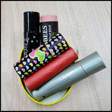 Eos lip balm/Paper tube for lip balm/Butterfly lipstick