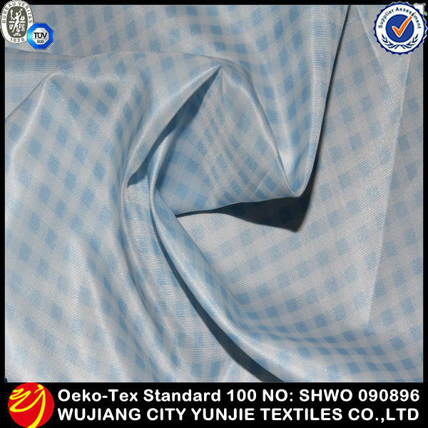 new style polyester taffeta lining fabric for handbag/shower curtain with matching window curtain