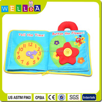 wholesalebaby cloth book china factory toy kids education toy