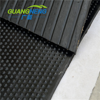 Round anti fatigue dairy cow horse stall mat/sheet