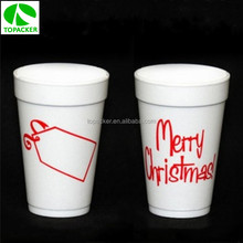 Disposable 16oz EPS colored styrofoam cup