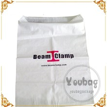 25kg 50kg grain sugar flour rice feed fertilizer laminated pp woven bag/PP woven bag manufacturer