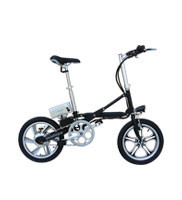 16 inch adult mini lightweight easy rider folding electric bike