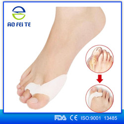 Best selling products soft Medical Slicone valgus pro gel bunion separator