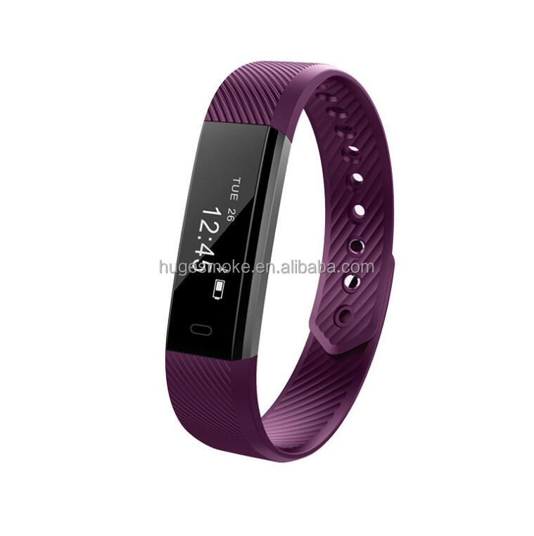 2017 Newest Sport Tracker Waterproof Fitness Tracker Pedometer Sleep Monitor Smart watch bracelet ID115 Wristband