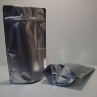 pre -three side sealed foil food bags for health food